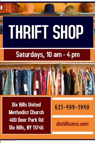 DHUMC Thrift Shop - Made with PosterMyWall