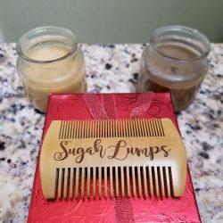 Beard Comb Engraved Sugah Lumps A