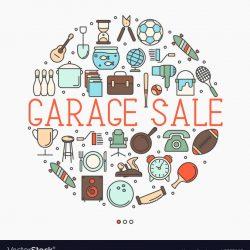 garage-sale-or-flea-market-concept-vector-15357027