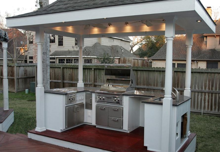 Outdoor kitchen ideas on a budget pennysaver coupons for Kitchen ideas on a budget uk