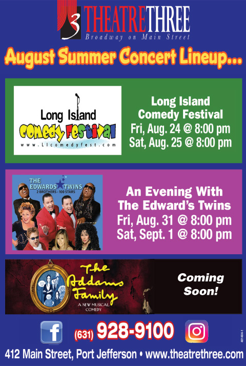 Theatre Three Summer Concerts Lineup! - Pennysaver | Coupons