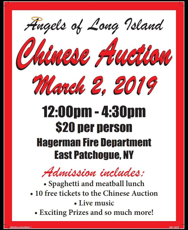 Angels of Long Island Annual Chinese Auction - Pennysaver